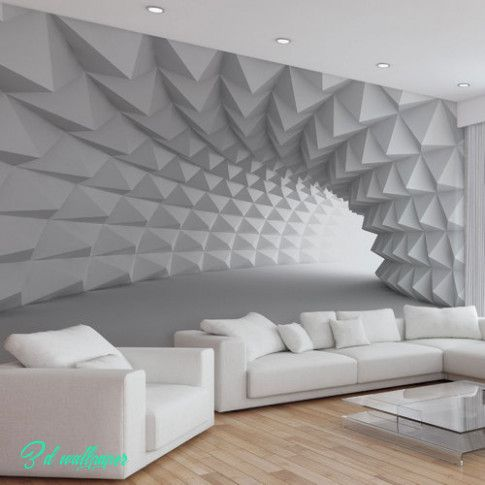 Whats So Trendy About 10d Wallpaper That Everyone Went Crazy Over It 10d Wallpaper Living Room Modern Accent Wall Designs Home Decor