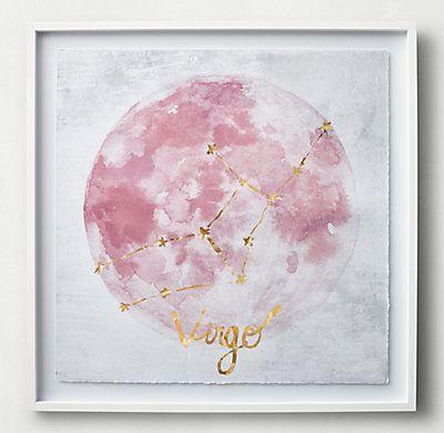 Zodiac Constellation Art