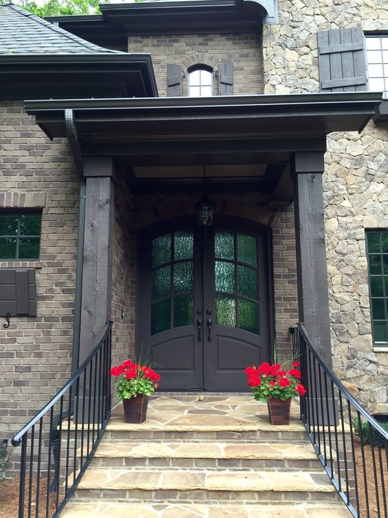 Black Fascia House Contemporary Exteriors Farmhouse: Foxes, Taupe And Asheville On Pinterest