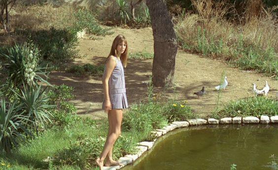 Jane Birkin in La Piscine, 1969 , by Jacques Deray.