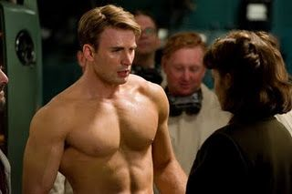 Captain America, yum!