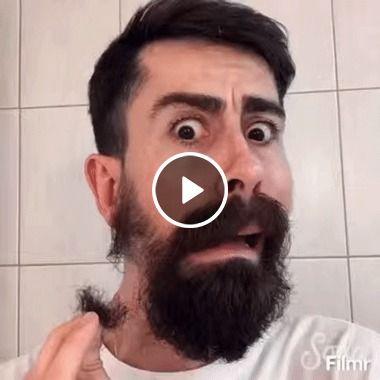 Verdadeira criança sem barba.