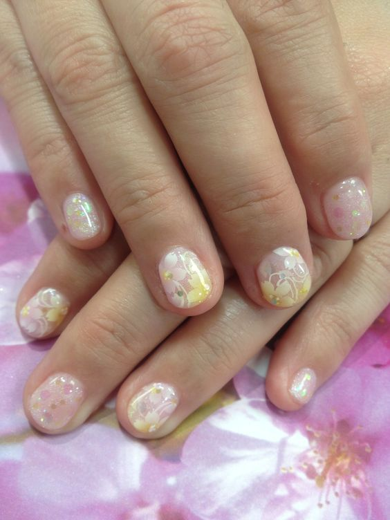 2013/03 Cherry Blossom nail!