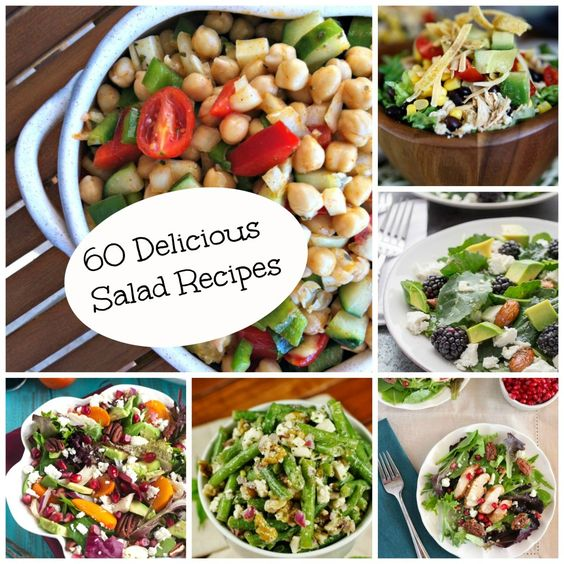 16 Insanely Healthy Recipes That Are Delicious: Delicious Salad Recipes, Salad Recipes And Summer Months