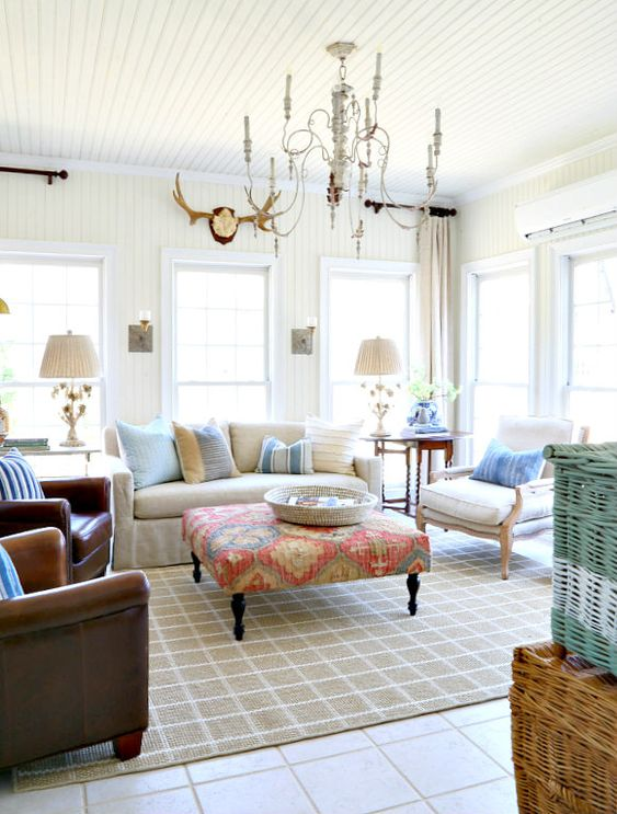 Savvy Southern Style : Spring Tour in the Sun Room