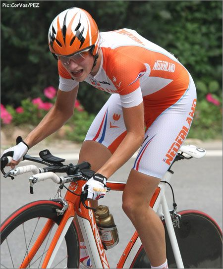 Marianne Vos wins the Women's Road Cycling #Netherlands