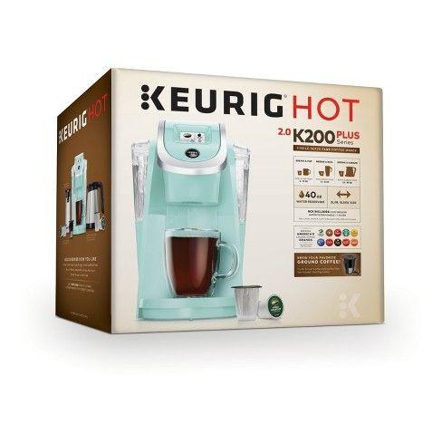Keurig K200 Single Serve K Cup Pod Coffee Maker Target Pod Coffee Makers Keurig Coffee Maker