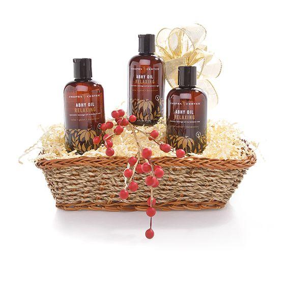 Abhy Body Oils from @Chopra Center | Organic Spa Magazine's 2013 Gift Guide: Eco-Beauty | #OrganicSpaMagazine