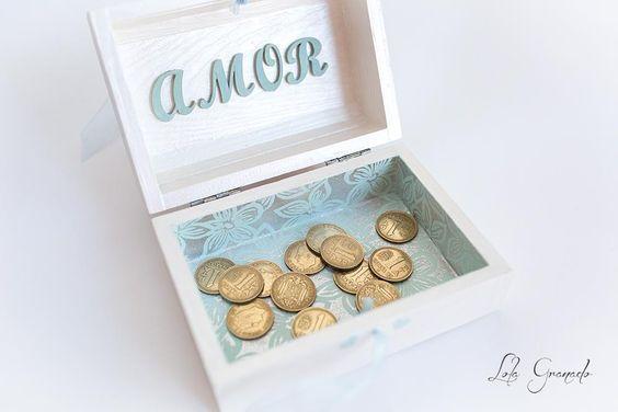#Caja de #boda para #arras Teresa y Fernando. www.lolagranado.com