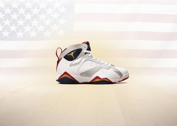 "The ""Olympics""  Air Jordan VII Retro."