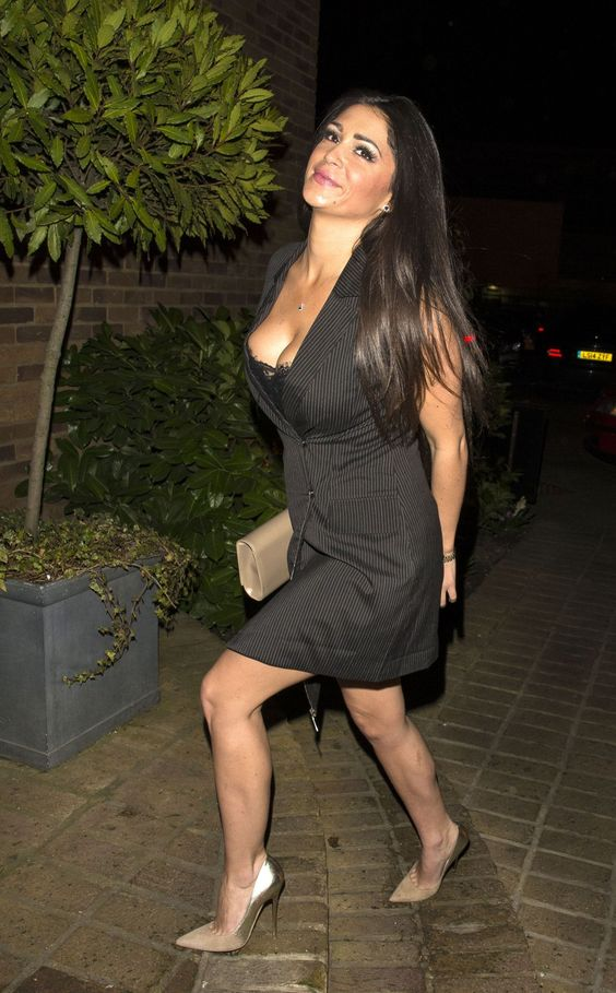 Casey Batchelor in a Blazer Dress - Heading to the Bonded By Blood 2 Wrap Party at Sugar Hut-2