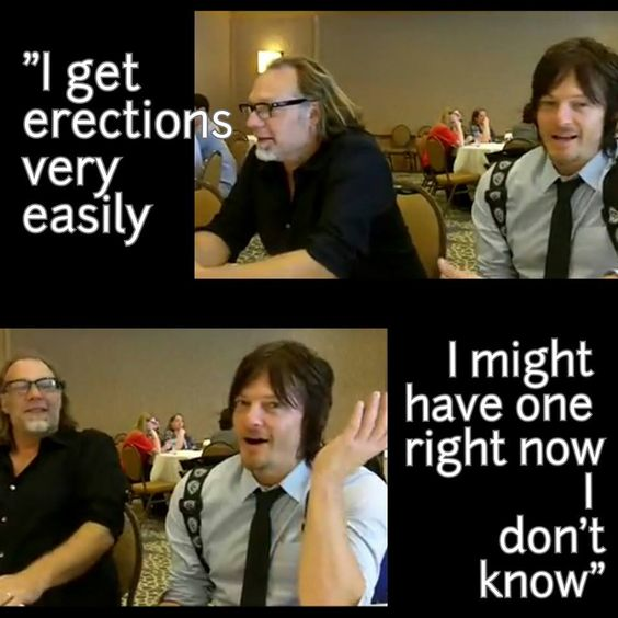 Norman and his erections