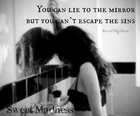 Mirrors lies