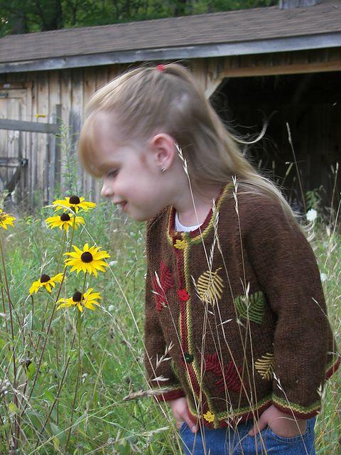 Free Pattern:: Autumn Leaves Jacket by Jenny Snedeker
