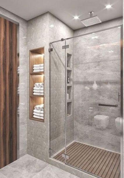 20+ Small Bathroom Decoration Ideas #bathroomdecorationideas #eweddingmag #HomeDecorationIdeas #HomeDesign