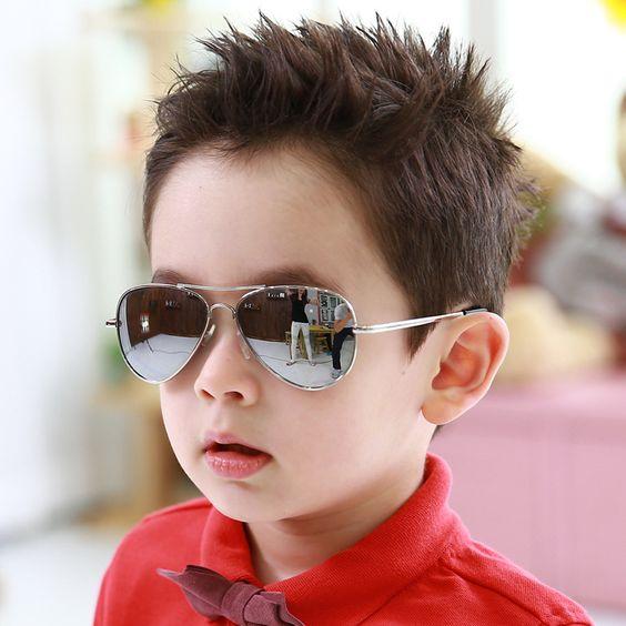 Girls Boy 5 Colors Cartoon Cat Anti UV400 Eyeglasses Toddler Baby Sunglasses Fad