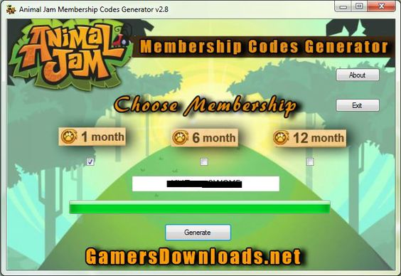 animal jam membership generator no download 2016