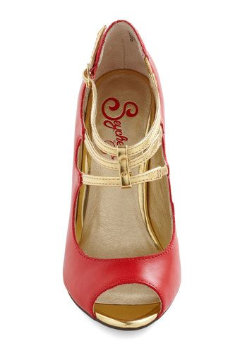 Heart Grows Fonder Heel, #ModCloth
