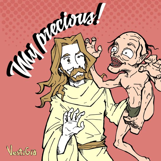 Ilustração-Jesus-_-Senhor-dos-Anéis