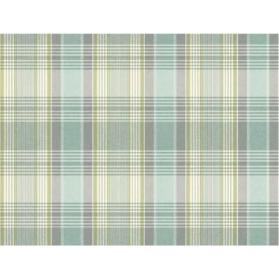 York Wallcoverings 60.75 sq. ft. Nautical Living Bartola Plaid Wallpaper-NY5006 - The Home Depot