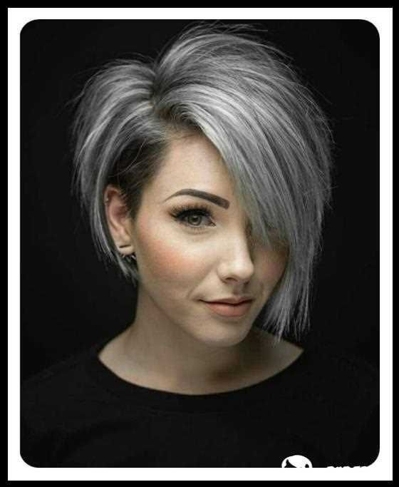 108 Asymmetrische Bob Frisuren Die Vielseitigste Frisur Dieses Jahrhunderts Short Hair Styles Short Grey Hair Thick Hair Styles
