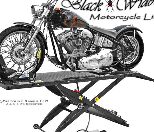 Black Widow Air Motorcycle Lift Table Stand Combo In 2020 Motorcycle Lift Table Motorcycle Lift Table