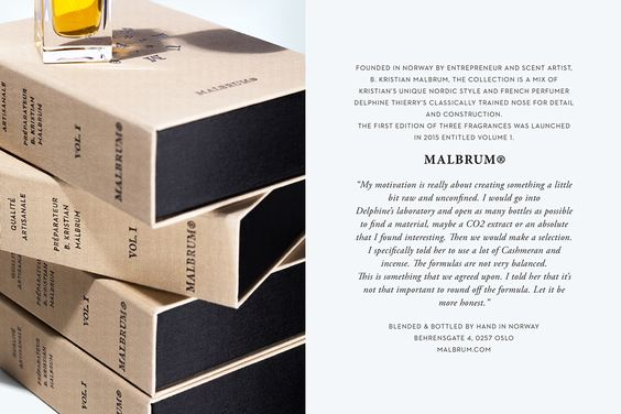 Malbrum Parfums on Behance