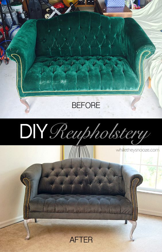 Tufted Couch Fabrics And Diy And Crafts On Pinterest