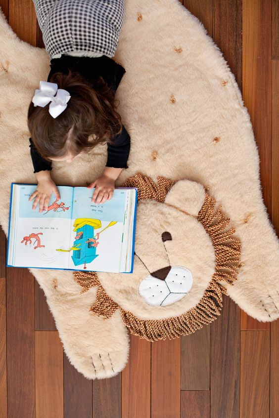 This animal play mat is the perfect way to blend form and function— saving those little kiddo knees from...: