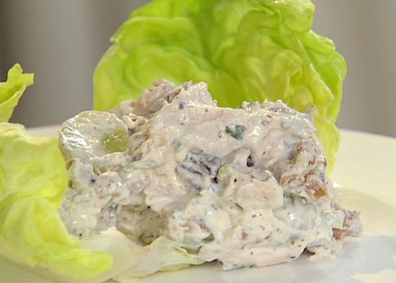 chicken salad contessa | recipe | ina garten, salts and pecans