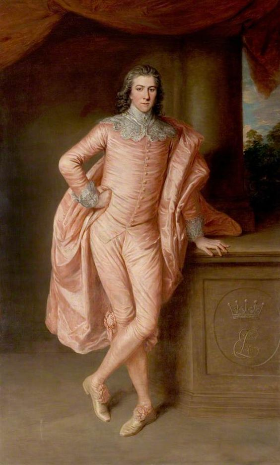 Portrait of Henry Fiennes Pelham Clinton (1750–1778), Earl of Lincoln by Gainsborough Dupont (British 1754-1797)