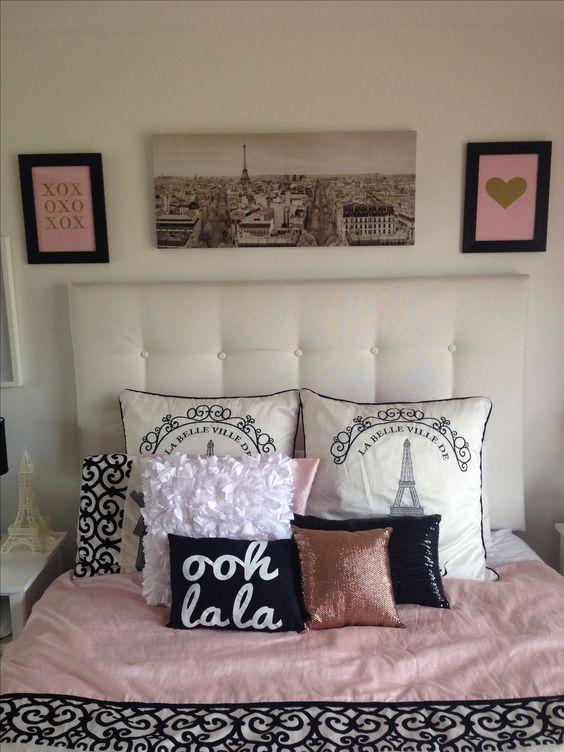 Diy paris bedroom decor