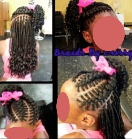 Cute Braided Hairstyles With Weave New Braid For Black Kids Short Hair Hairstyle Foк