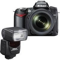 Nikon D90 12.3 Megapixel Digital SLR Camera Body with DX Format CMOS Sensor - Bundle - with Nikon SB-700 TTL AF Shoe Mount Speedlight, USA by Nikon. $1196.95. The Nikon D90 is a 12.3-megapixel DX-format camera. Fusing 12.3-megapixel image quality inherited from the award-winning D300 with ground breaking features, the D90's breathtaking, low-noise image quality is further advanced with EXPEED image processing. Split-second shutter response and continuous shooting at up to 4.5 fr...