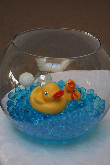 Rubber ducky shower party ideas pinterest bathrooms for Rubber ducky bathroom ideas