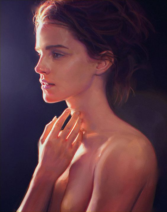 Paintable.cc | 50 Stunning Digital Painting Portraits: Irakli Nadar #digitalpainting #portrait #inspiration: