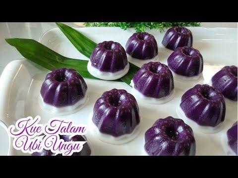 Resep Kue Talam Praktis Kue Basah Talam Ubi Ungu Lembut Dan Enak Kue Tradisional Youtube Ungu Resep Kue Ubi