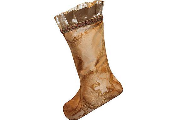 Metallic Ikat Stocking on OneKingsLane.com