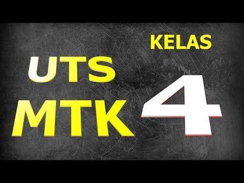 Soal Uts Matematika Kelas 4 Semester 2 Dan Kunci Jawaban Youtube Matematika Kelas 4 Matematika Buku