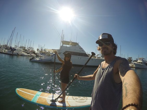 Pregnant paddleboarding and fitness #thirdtrimester