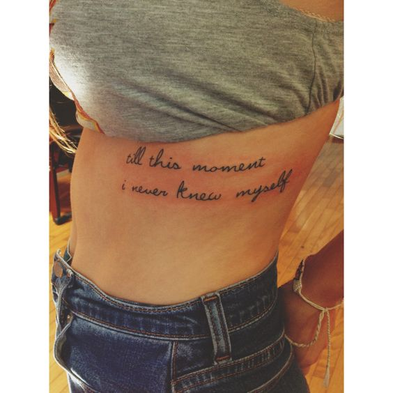 23 Epic Literary Love Tattoos: My Newest Tattoo. Pride And Prejudice Quote. Done By