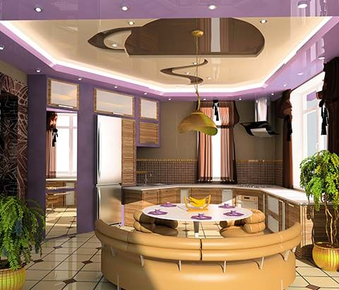 Interior Designs: Chameleon Crazy Kitchen www.flkitchens.com