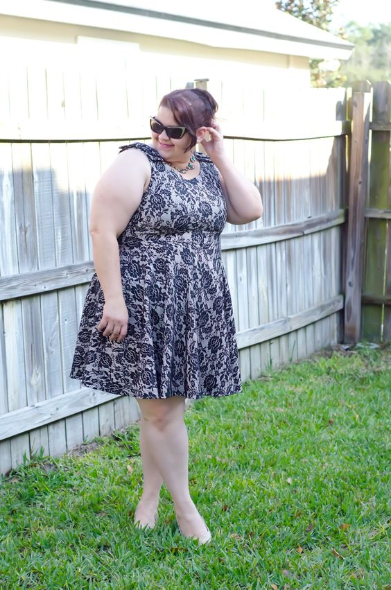 plus size lace dress - Kirstin Marie - Plus Size Fashion and Style Blog