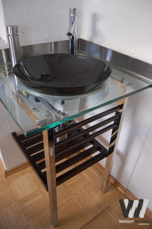 carbon washbasin carbon fiber tape furniture