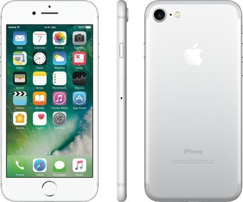 Verizon Prepaid Apple Iphone 7 With 32gb Memory Prepaid Cell Phone Silver 32gb Apple Cell Iphone Memory Phone Apple Iphone Iphone 7 Smartphone