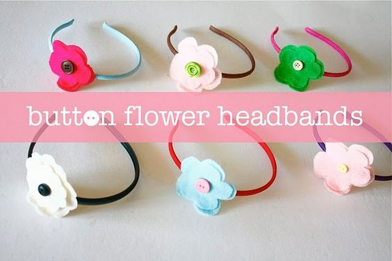 SO... I was already making rosette headbands for kais birthday, this would have been a lot easier hah