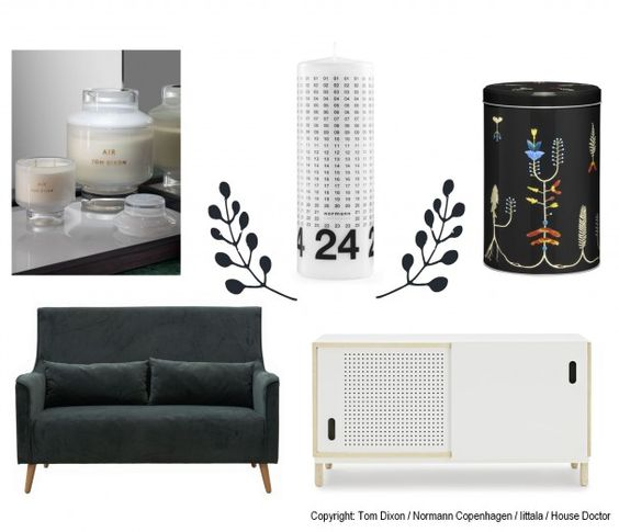 Christmas decoration / black & white / some essentials