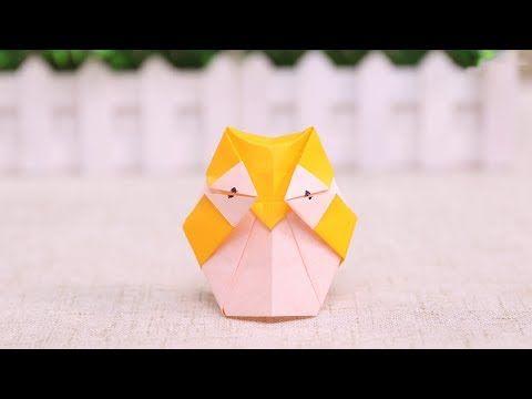 Origami Schmetterling Nã Hen