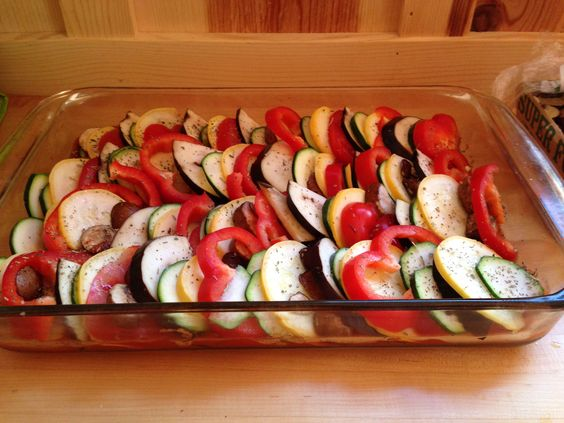 Ratatouille with summer veggies | Monday night dinner | Pinterest ...