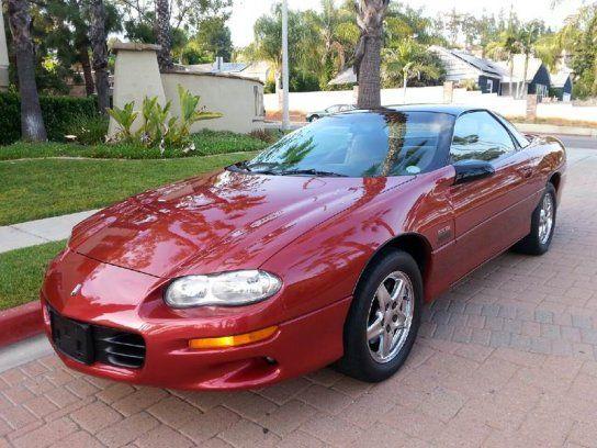 Coupe 1998 Chevrolet Camaro Z28 Coupe With 2 Door In El Cajon Ca